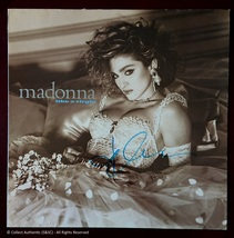 Madonna Autographed Like A Virgin Record Album - $949.00