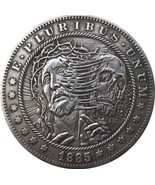 Rare New Hobo Nickel 1885 Morgan Dollar Jesus God Religious Religion Casted Coin - $11.39