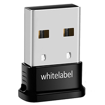 Whitelabel Bluetooth 4.0 USB Dongle Adapter Compatible with Windows 10, ... - $16.27
