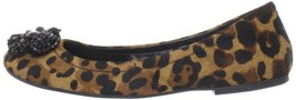 Women's Shoes Jessica Simpson Malisa Ballet Flats Slip On Tan Leopard US... - €33,27 EUR