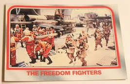 Empire Strikes Back Trading Card #35 Freedom Fighters - $1.97