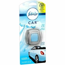 Febreze Car Vent Clips 2ml Air Freshener Linen & Sky New Sealed - $4.94