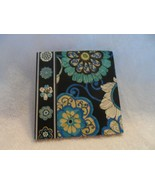 Vera Bradley Pocket Mod Floral Blue sticky notes & Boysenberry forget-me... - $9.50