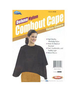 Dream Deluxe Nylon Combout Cape Water Chemical Resistant Washable Hair S... - $9.99