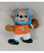"""Gibson Cards Football Bear Figure 2.25"""" 1984 - $3.55"""