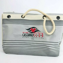 Disney Cruise Line Castaway Club Canvas Rope Beach Tote Beach Bag Purse  - $29.69