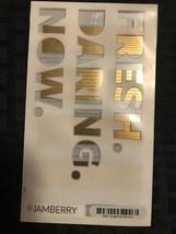 NIP Jamberry full sheet gold nail art strips stickers - $4.99