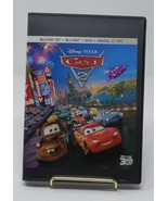 Pixar Cars 2 (Blu-Ray 3D+Blu Ray+DVD) - $15.83