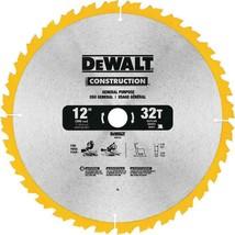DeWalt 12 in. 32-Tooth Carbide Saw Blade (DW3123) - $22.50