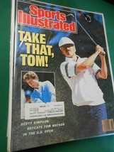 SPORTS ILLUSTRATED June 29,1987  Golf...TAKE THAT, TOM..........FREE POS... - $8.50