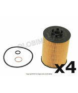 BMW e60 e70 (2003-2010) Oil Filter Kit MAHLE-KNECHT (4) NEW + 1 YEAR WAR... - $61.85