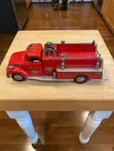Tonka Toy No.5 Suburban Pumper Fire Truck Original 1950s - $269.99