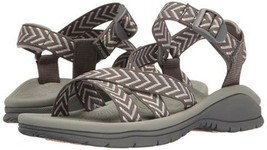 NWT JSPORT BY JAMBU Navajo Women's Sandals GREY SIZE: 7.5 - £24.04 GBP