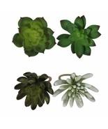 4 Pc Celebrate Spring Succulent Cactus Napkin Rings Holders NWT FREE SHI... - $29.69