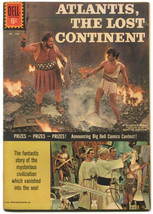 Atlantis The Lost Continent 1188 FN+ 6.5 Dell Four Color Movie Adaptation 1961 - $29.69