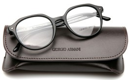 NEW GIORGIO ARMANI AR 7132 5017 BLACK EYEGLASSES FRAME 50-19-145mm B44mm... - $133.64