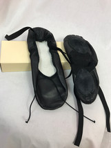 Bloch S0203L Prolite II Hybrid Black Leather Ballet Shoes Size 3.5 C, New - $14.24