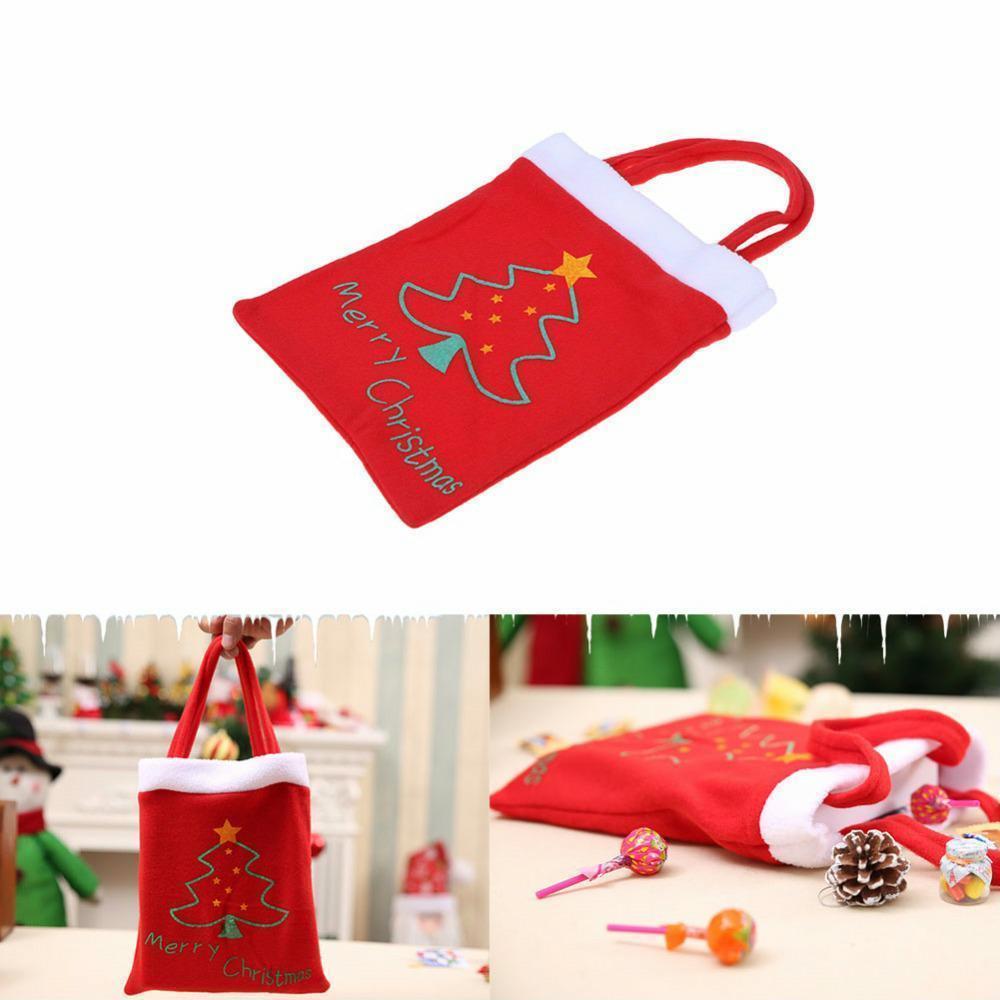 Christmas Gift Santa Bag Candy Xmas Bags Claus Party Decor Decoration Home