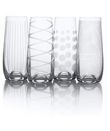 Mikasa Cheers Stemless Champagne Flutes (Set Of 4) - ₨3,341.80 INR