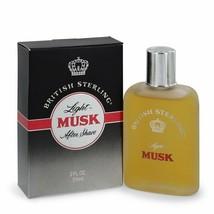 British Sterling Light Musk by Dana After Shave 2 oz (Men) - $52.72