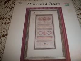 Diamonds & Hearts Hardanger Leaflet  - $7.00