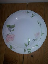 Retired SANGO Sculpture Rose Fine China 4 Salad Plates 1051 Made in Japa... - $17.80