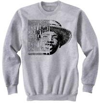 Martin Luther King Jr - Darkness- NEW COTTON GREY SWEATSHIRT - $31.88
