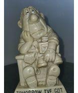 Tomorrow I've Got To Get Organizes - Rare - W&R Berries Vintage Figurine - $24.75