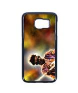 Jimi Hendrix Samsung Galaxy S6 EDGE case Customized soft rubber phone ca... - $14.84
