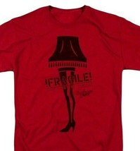 Christmas Story Fragile Lamp T-shirt retro 1980s holiday movie film  WBM667 image 1