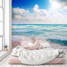 3D Cloud Wave PKE1098 Business Wallpaper Wall Mural Self-adhesive Commer... - $13.49+