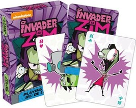 Invader Zim Animated Art Illustrated Set of Playing Cards 52 Images NEW ... - $5.94