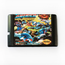 Captain America And The Avengers 16 bit MD Game Card For Sega - $25.99