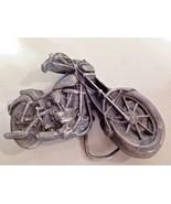 """79 Harley Davidson Twin V Motorcycle chopper Belt Buckle Bergamot Brass... - $30.25"
