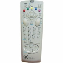 Ge RCG110DA1 Rcg 110D A1 Factory Original TV/DVD Combo Remote DGE100, DRC220 - $10.19