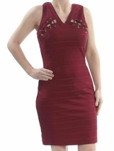 GUESS Womens Sleeveless Party Bodycon Wine Dress - Choose Size #1080 - $28.99
