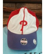 Philadelphia Phillies Red/Royal The Franchise Perfect  Fit Hat -Size Large - $13.99