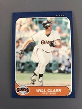 MINT 1986 San Francisco Giants Fleer Update #25 WILL CLARK RC FACTORY SE... - $2.49