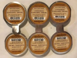 Bain & Corps Travaux Cannelle Caramel Tourbillon Scentportable Parfum Re... - $24.63