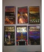 Stuart Woods: A Stone Barrington Novel Lot Of 6 PB Books paperbacks - $14.84