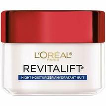 L'Oreal Paris, RevitaLift Anti-Wrinkle + Firming Night Cream Moisturizer... - $10.19