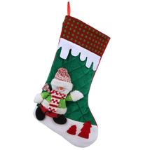 (as pictures)Home Christmas Stocking Theme Decoration Stocking Ornaments... - $20.00