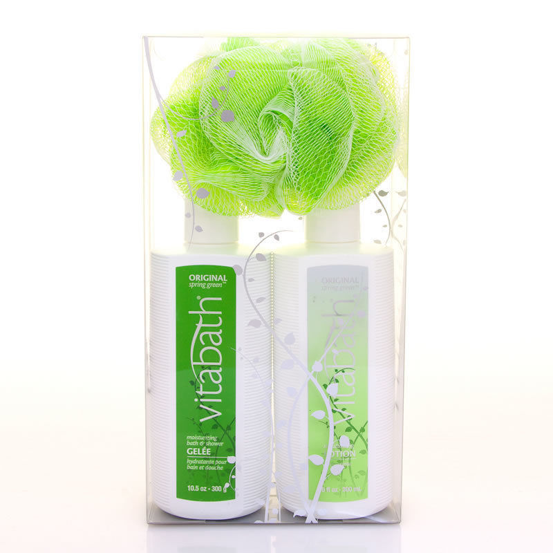 Vitabath Original Spring Green™ Everyday Gift Set  New