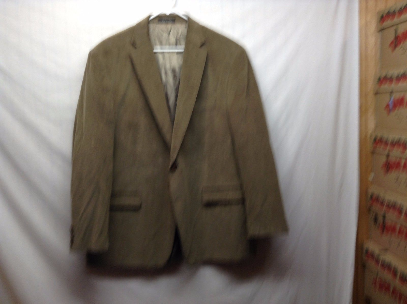 Ralph Lauren Men's Green Corduroy Sport Coat Sz 48L