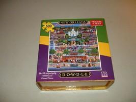 Eric Dowdle Folk Art 500 Piece Jigsaw Puzzle New Orleans Open Box, Seale... - $14.84