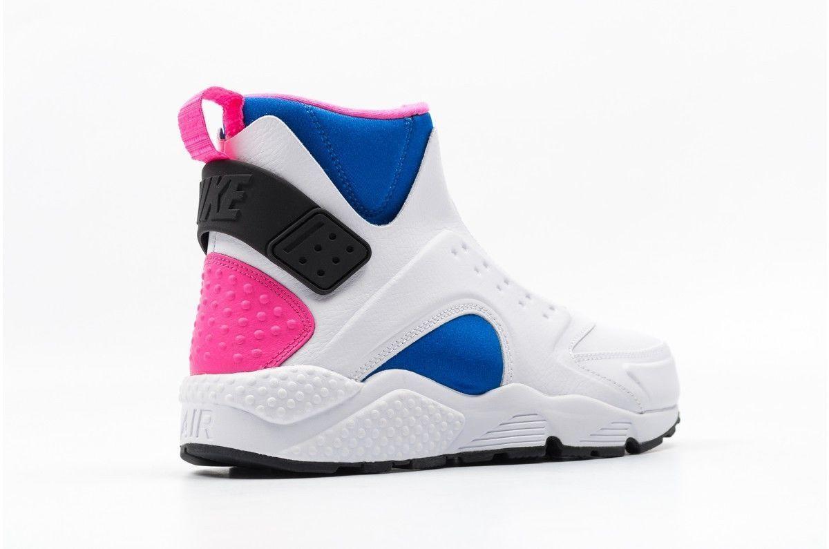 48b2bfdcaa67a Nike Air Huarache Run Mid 807313-100 White and 50 similar items