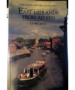 The East Midlands from A.D.1000 : J. V. Beckett : Softcover VG  @ZB - $15.95