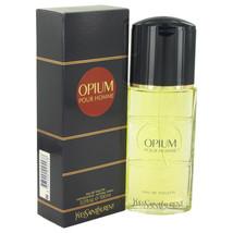OPIUM by Yves Saint Laurent Eau De Toilette Spray 3.3 oz for Men #400105 - $45.20