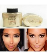 Banana Powder Smooth Loose Oil Control Face Makeup Concealer Mineral Foundation - $7.87