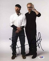 Mythbusters Cast Hyneman & Savage Signed 8x10 Photo Certified Authentic PSA/DNA  - $267.29